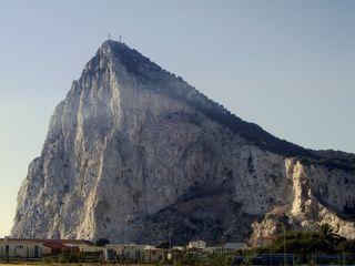 Gibraltar Espanjasta katseltuna