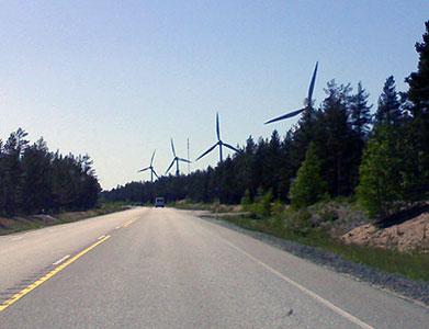 Hangon tuulivoimaa