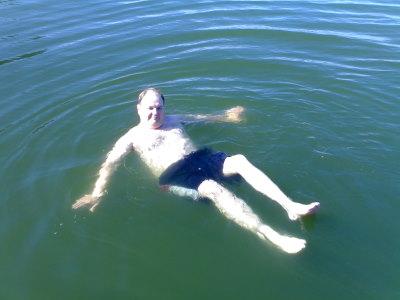 Vesi on lämmintä