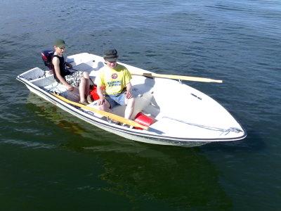 Veneen ajokoulussa