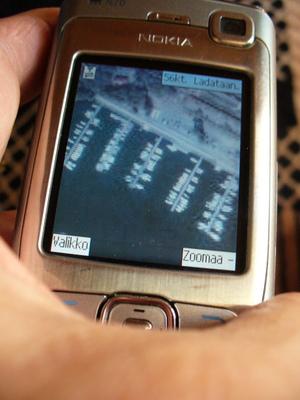 Google Maps Mobile N70 puhelimessa