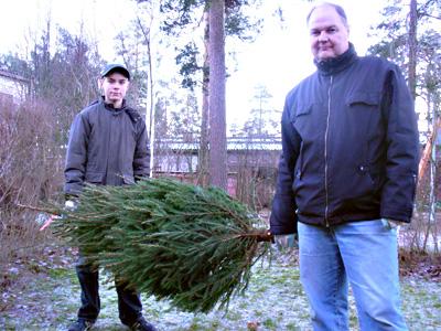 Samu, Joulukuusi ja Teuvo