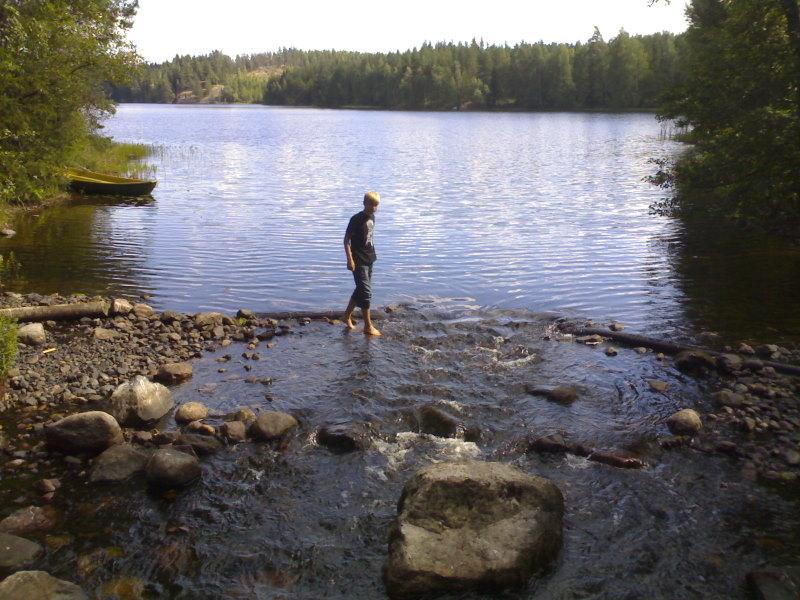 Samu ja Sikajärvi - Sikakoski