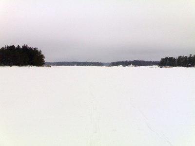 Näkymä Möholmenin vierestä pohjoiseen