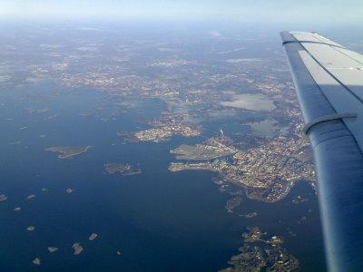 Helsinki yläilmoista