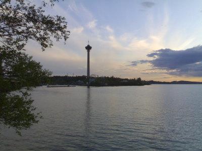 Ilta saapuu Tampereelle