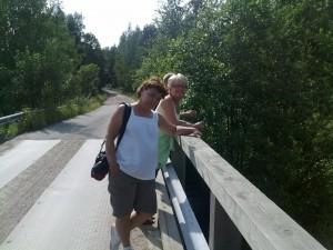 Sään arvuuttelua Medvastön sillalla