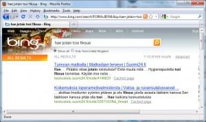 Pahuksen Bing varastanut osoitekentän oletushakukoneominaisuuden