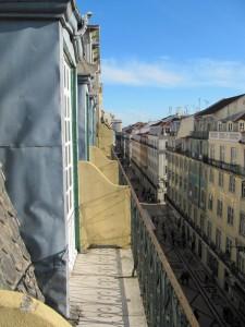 Näkymä hotellin parvekkeelta