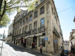 Lissabonissa on mäkiä