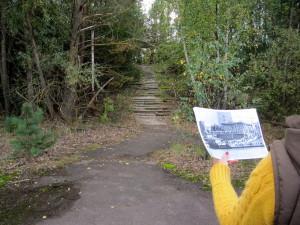 Pripyat ennen ja nyt