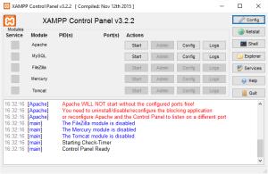 XAMPP-step9-problem