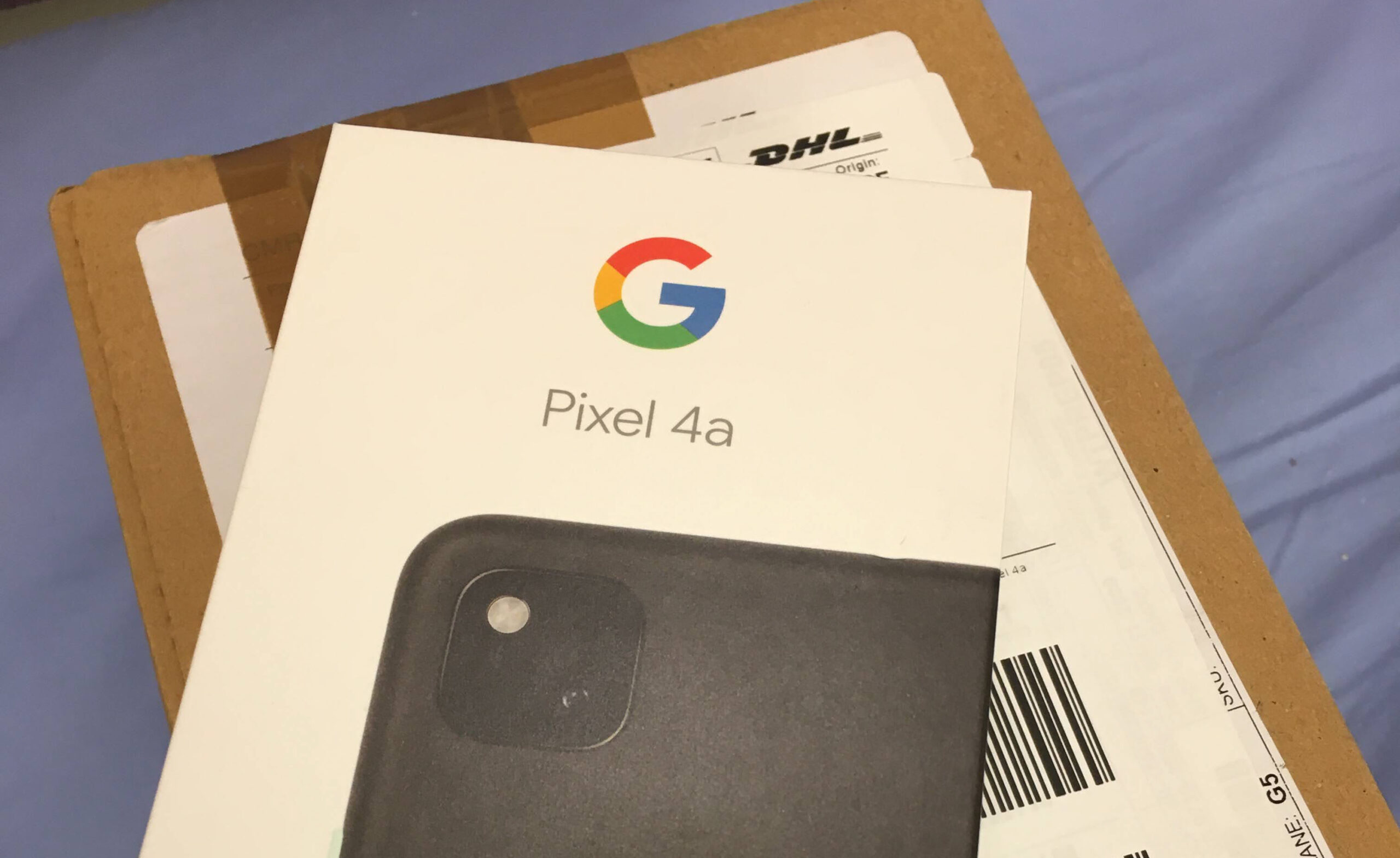 Pixel 4a -paketti
